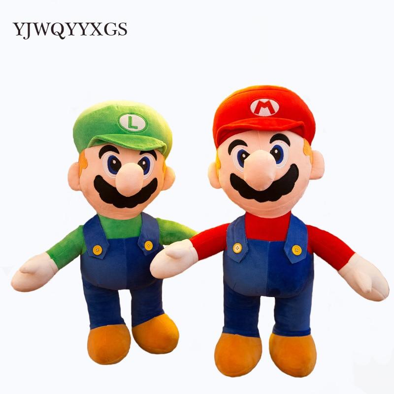 Супер Марио Bros Luigi Плюшевые игрушки - Мягкие и плюшевые игрушки
