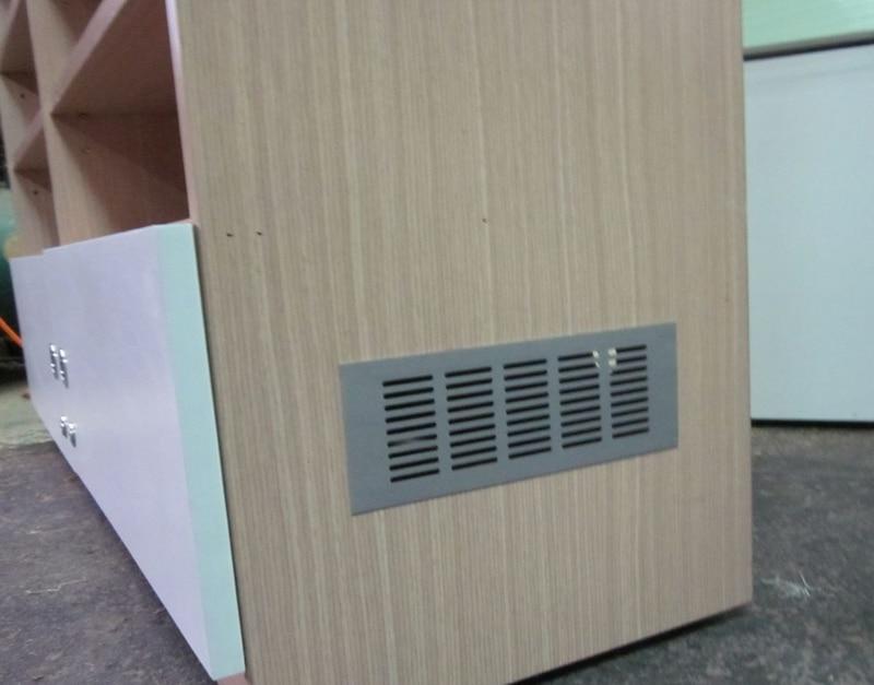 5Pcs/Lot 300*80mm Aluminum Air Vent Ventilator Grille For Closet Shoe  Cabinet(