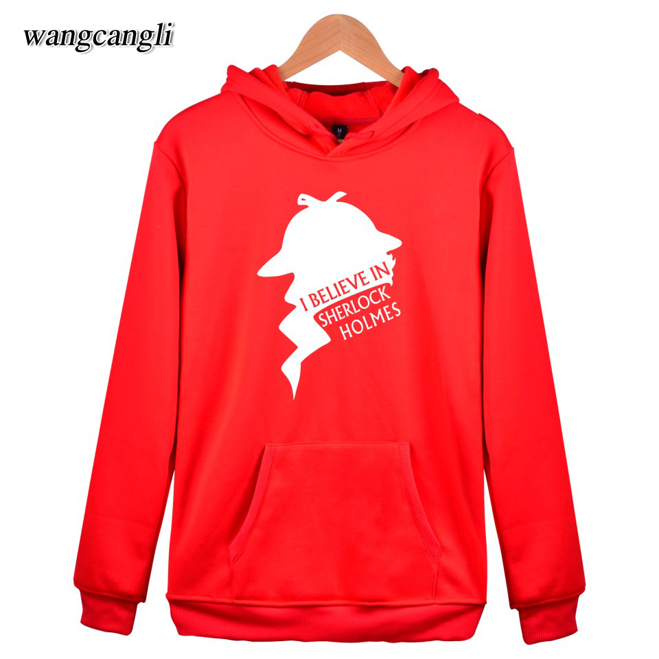 5 colors Sherlock Hoodies Mens Warm Colthes With XXS To 4XL And Sher Lock Hol mes Hooded Women Sweatshirt With Cap red Garments