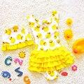 Девушки цельный купальник большой размер Желтая утка бикини one piece сексуальная Женщина купальники купальник One piece push up купальник ребенка