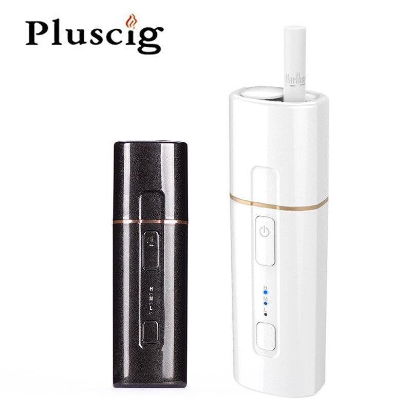 SMY Pluscig B3 Temp-Controle Grande Kit Caixa de Aquecimento Eletrônico Tabaco compatibilidade com 1300 mAh Da Bateria para o Cigarro Cartucho