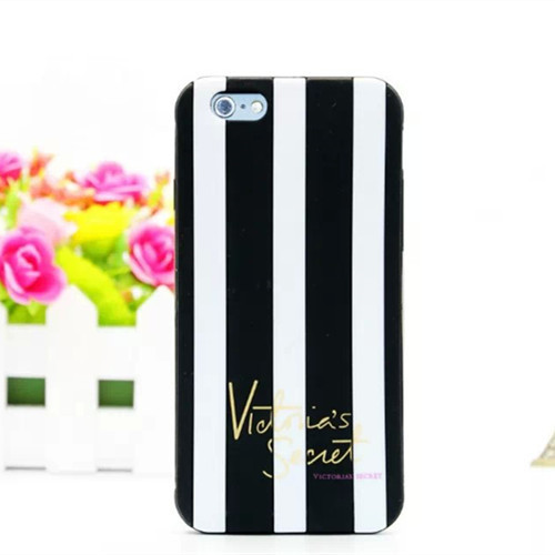 2015 NEW Victoria/'s Secret PINK Luxe Soft Silicone Stripe Rubber Case Cover skin iphone 5 5s 5c 6 Plus 4.7/5.5 inch - YMC Group Co., Ltd store