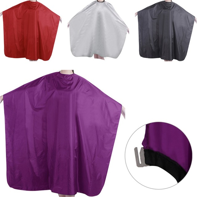 1 pieza profesional adulto impermeable salón corte de pelo barberos capa vestido de tela