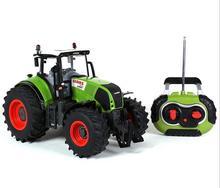 2016 Hot Sale Voiture Telecommande Carrinho De Controle Remoto 1:16 Oversized Radio Remote Control Car Farmer Tractor Kids Toy