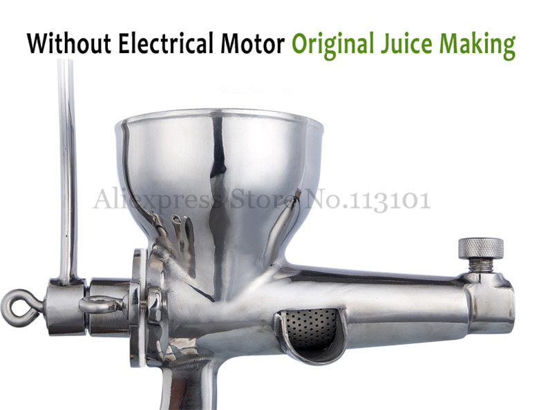 Wheat Grass Juicer Manual Wheatgrass Fruit Juice Extractor Leafy Vegetables Squeezer with Hand Crank Brand New glantop 2l smoothie blender fruit juice mixer juicer high performance pro commercial glthsg2029