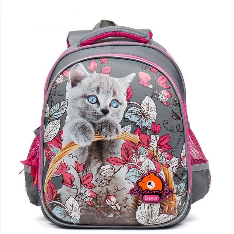 Russia Children Backpack To School Boy Teenager Mochilas Infantis Large Capacity Waterproof School Bag Knapsack For girl