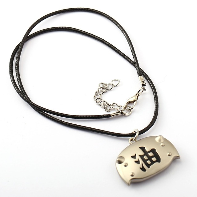 Naruto Choker Necklace Men And Women
