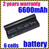 New 5200mah Laptop Battery For Eee PC 901 904HD 1000 1000H 1000HD Series Eeepc 901 AL24