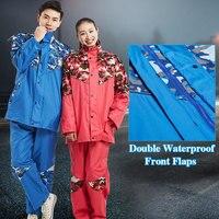 Motorcycle Impermeable Raincoat Women/Men Suit Rain Coat Outdoor Women Hood Adults Raincoat Camping Fishing Rain Gear Poncho YY5