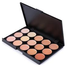 Portable Mini 15 Colors Face Concealer Palette Camouflage Cream Contour Professional Facial