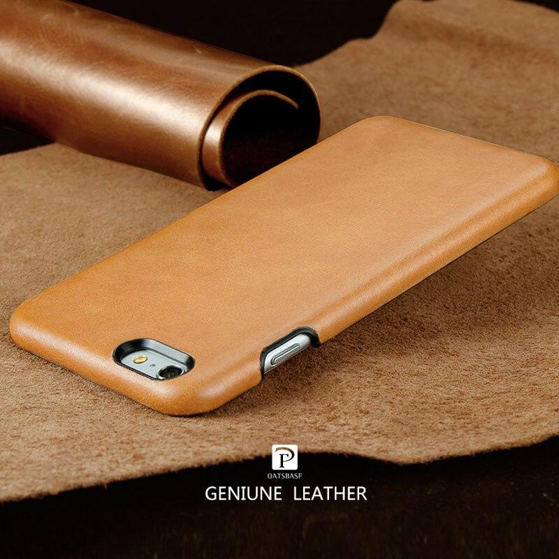 imágenes para 2017 nuevo diseño de Caso de La Contraportada Para el iphone de Apple 7 7 Plus caja del cuero genuino para el iphone 6 6, además de Todo caso de cuero envuelto