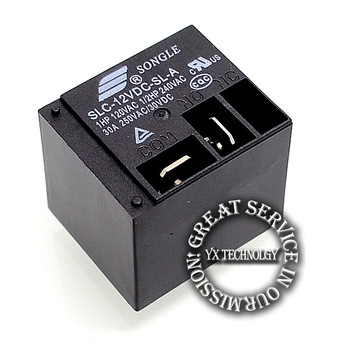10pcs power Relay SLC-12VDC-SL-A   4 foot a set of normally open 12V 30A 250V