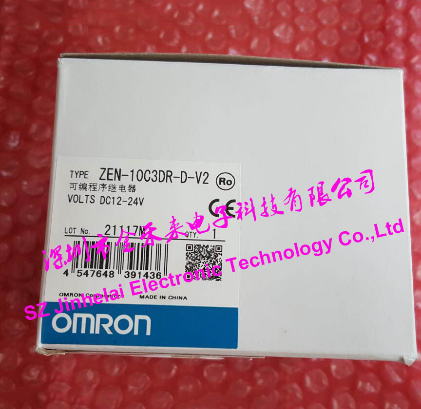 ZEN-10C3DR-D-V2 New and original OMRON Programmable relay 12-24VDC