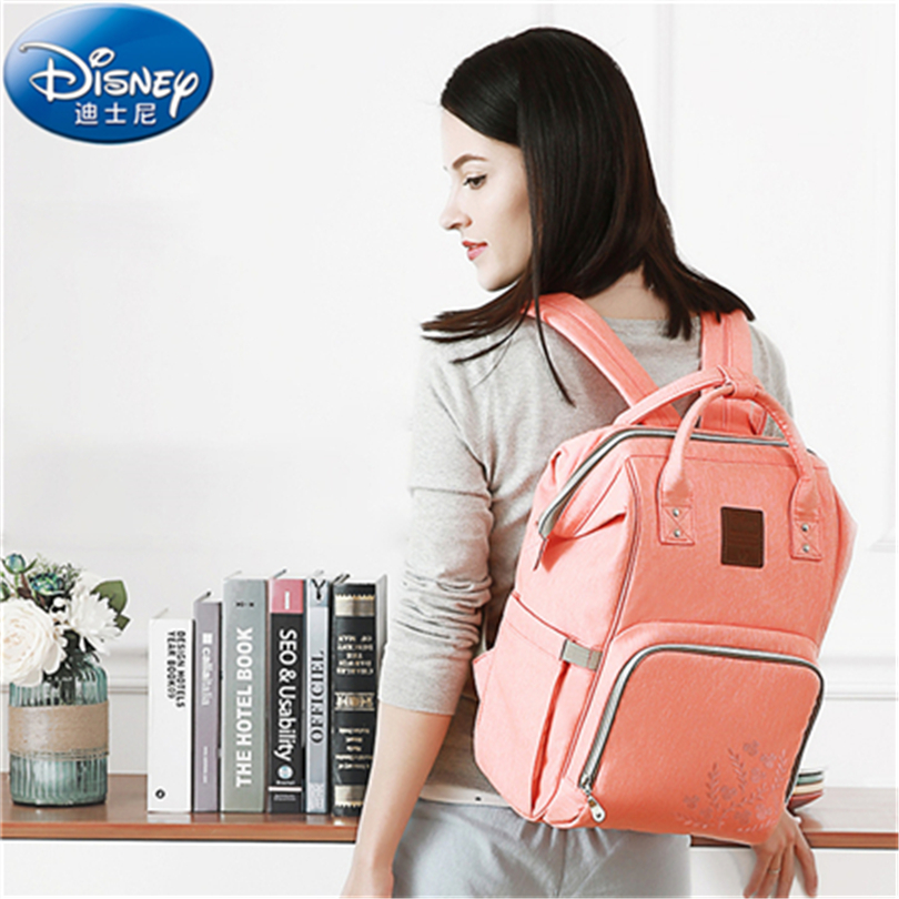 Disney Mummy Maternity Nappy Bag Travel Backpack Large Capacity Baby Bag Stroller Diaper Bag for Baby Care Insulation Bags HG053 disney large capacity baby bag stroller diaper bag mummy maternity nappy bag travel backpack for baby care insulation bags