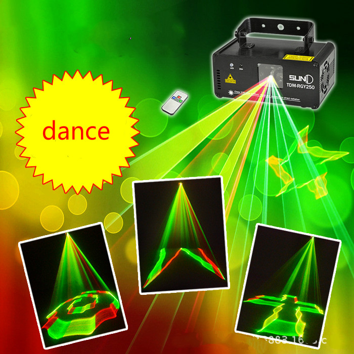 New 3D multi pattern laser light Bar KTV stage light Flash lamp Sound laser light Light beam