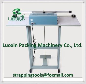 LX-PACK Foot Operated Impulse Poly Sealers 12''14 inch Foot Double Impulse Vertical Sealer 18'' Twin Element Foot Impulse Sealer