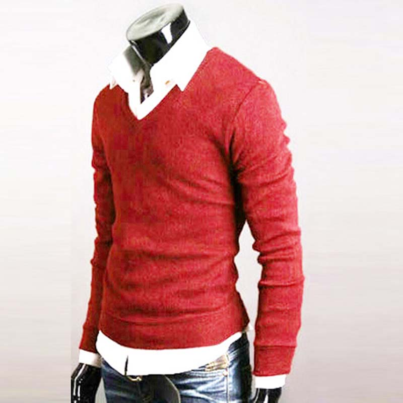 Man-Sweater-Autumn-Winter-Warm-Male-Knitwear-Long-Full-Sleeve-Pullover-V-Neck-Fit-Knitting-Guy (3)