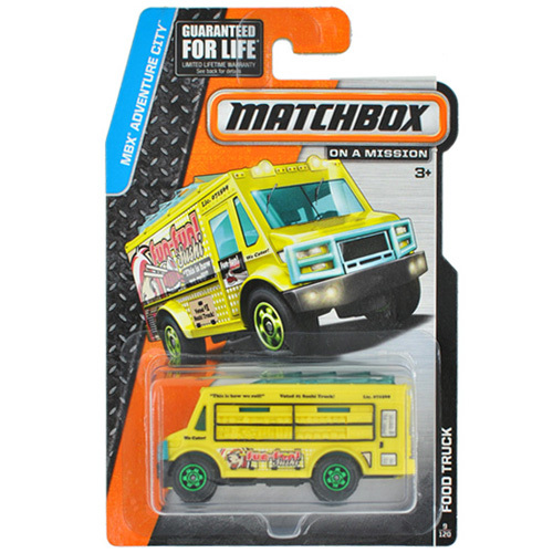 Best Matchbox Cars And Toys For Kids : Free shipping matchbox one pack food truck alloy