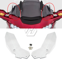 Clear Motorcycle Side Windshield Wind Deflector Cowl Case for Honda Gold Wing Accessories GL1800 GL 1800 2018 Up