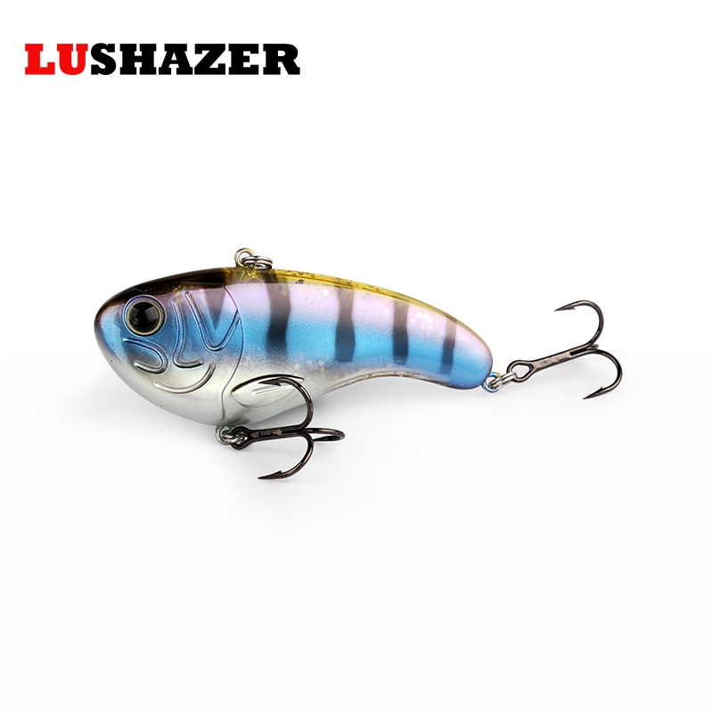 Fishing lure 7.9g 17.2g VIB ice fishing bait hard lures isca artificial wobbler fishing tackle China free shipping trulinoya minnow fishing lures 80mm 8g hard bait carp fishing bass lure swimbait sea fishing isca artificial fly fishing tackle