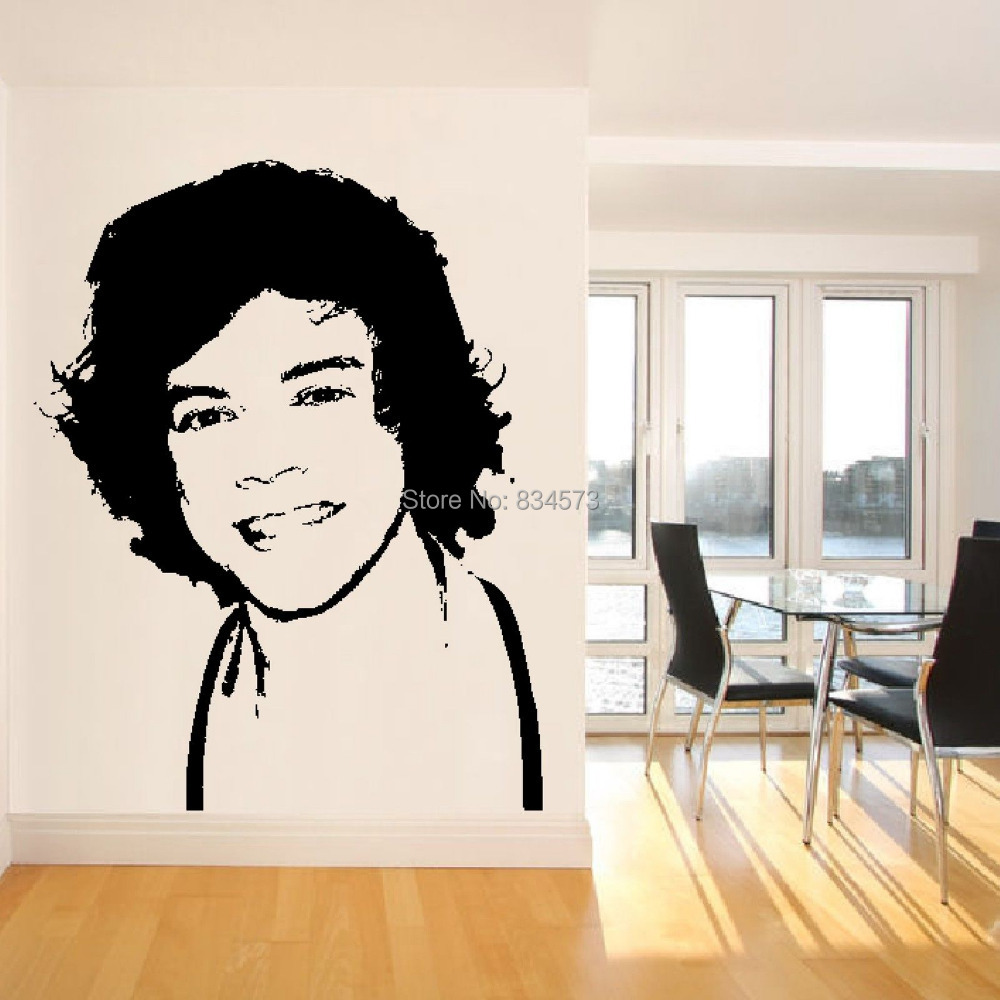 Diy One Direction Wall Decor : Aliexpress buy harry styles one direction boyband d