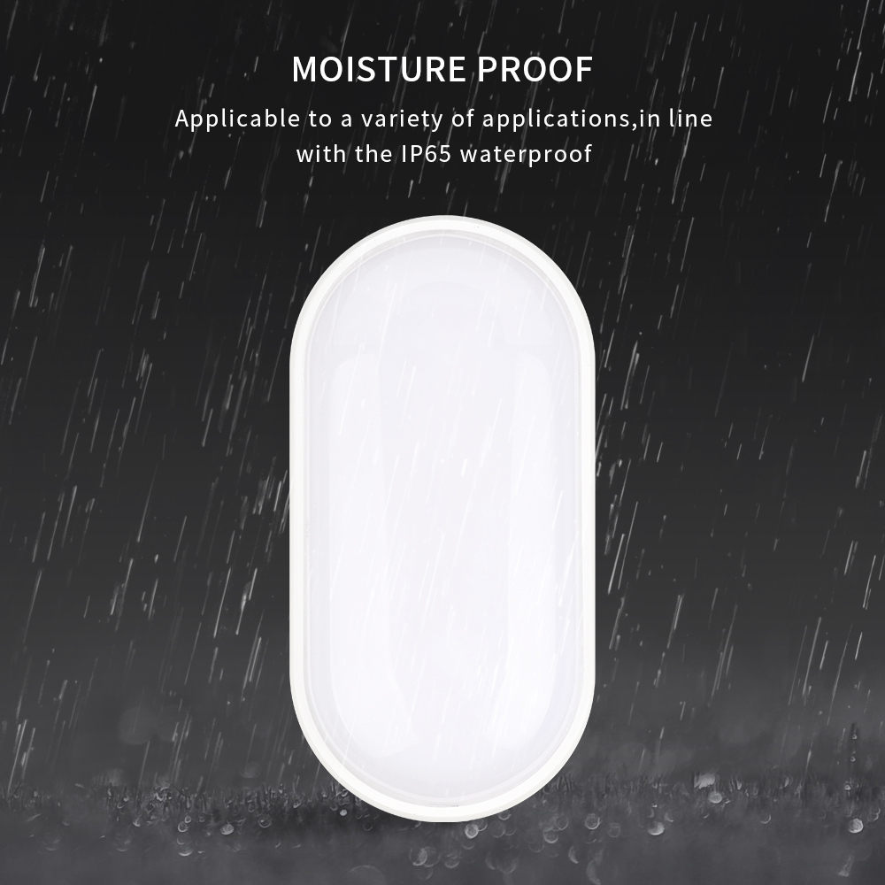 Wall Light Outdoor Waterproof Led Bathroom Modern Moisture Proof Garden Bulkhead