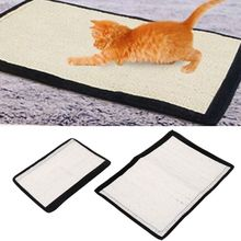 Sisal Cat Scratching Toys Sofa Chair Furniture Protector Cat Kitten Scratch Mat Board 4pcs cat non slip sock cat scratching toys furniture chair table leg protector
