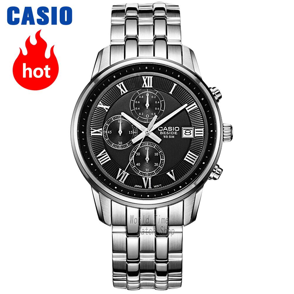 все цены на Casio watch Fashion business pointer waterproof quartz watch BEM-511D-1A BEM-511D-7A BEM-511L-1A BEM-511L-7A BEM-512D-1A онлайн