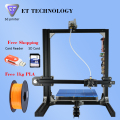 ET-I3 Dual Extuder Large Size Prusa i3 Auto Level Double Nozzle High Precision Large Buid Area 3D Printer Kit