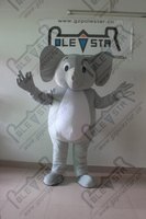 quality baby elephant mascot costumes different design