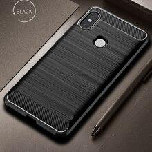 Silicone Case For Xiaomi Mi A2 Case Cover for Xiaomi Mi A2 Lite Case Soft CarbonFiber phone Case on Xiaomi MiA2 lite Redmi 6 Pro