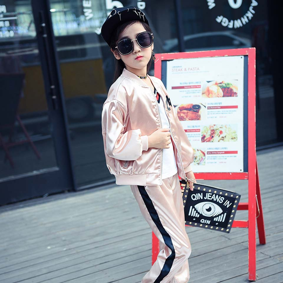 Girls Clothes Autumn Jackets Children Coat Kids Spring Outerwear Teenager 3-14 Years Windproof Waterproof Thin Flash Trench Coat