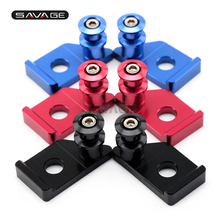 Swingarm Spools Slider For YAMAHA YZF R15 V3 MT-15 M-SLAZ MT-125 15-18, YZF-R125 08-18 Motorcycle Chain Regulator Stand Screw