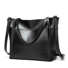 New Fashion Luxury Handbag High Quality Women Large Shopping Tote Bag Female Bucket Shoulder Ladies Leather Messenger Bags 2019