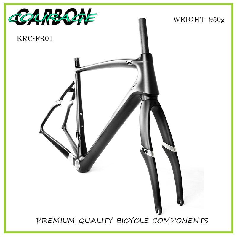 700C Wheel Road Carbon Bike Frames Racing Bicycle Frame Road Bike Frame
