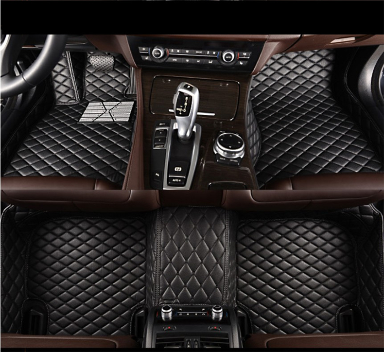 Auto Floor Mats For LEXUS GX400 GX460 2014-2017 Foot Carpets Car Step Mats High Quality Brand New Embroidery Leather Mats 2014 5d car fioor mats one step making newest special for volksiwagen golf 7