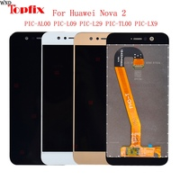 For Huawei Nova 2 LCD Display Touch Screen Digitizer With Frame 100%Tested 5.0 LCD Assembly Replacement Parts For Huawei Nova 2