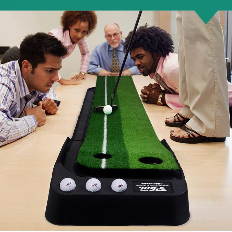 PGM Indoor Golf Putter Trainer vadbeni komplet, samo 4 kg, enostavno prenašanje. notranji golf daje zelen, golf putter
