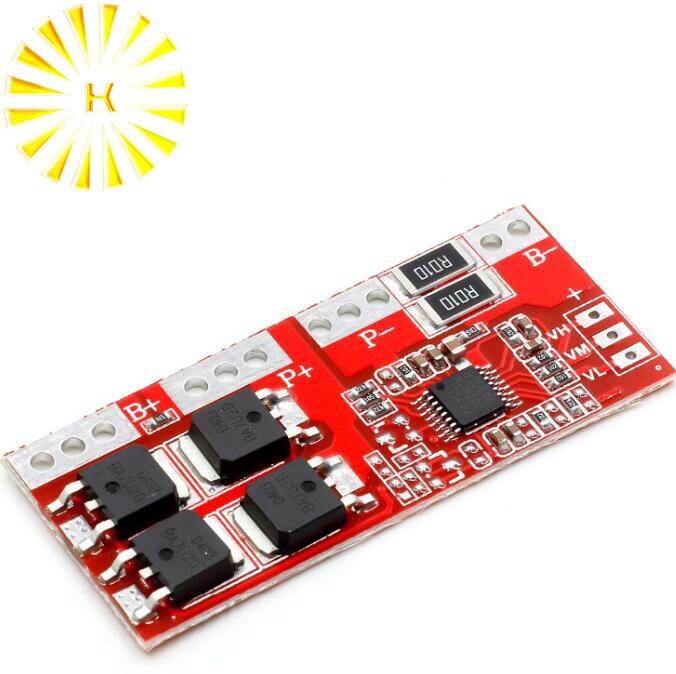 1PCS 4S 30A Li-ion Lithium Battery 18650 Charger Protection Board 14.4V 14.8V 16.8V 4S BMS