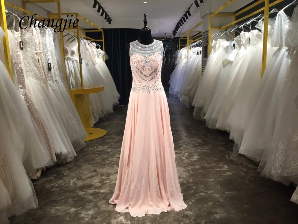 A-lijn Floor-lengte Prom Drersses Mouwloze Celebrity Dress Fonkelende - Jurken voor bijzondere gelegenheden