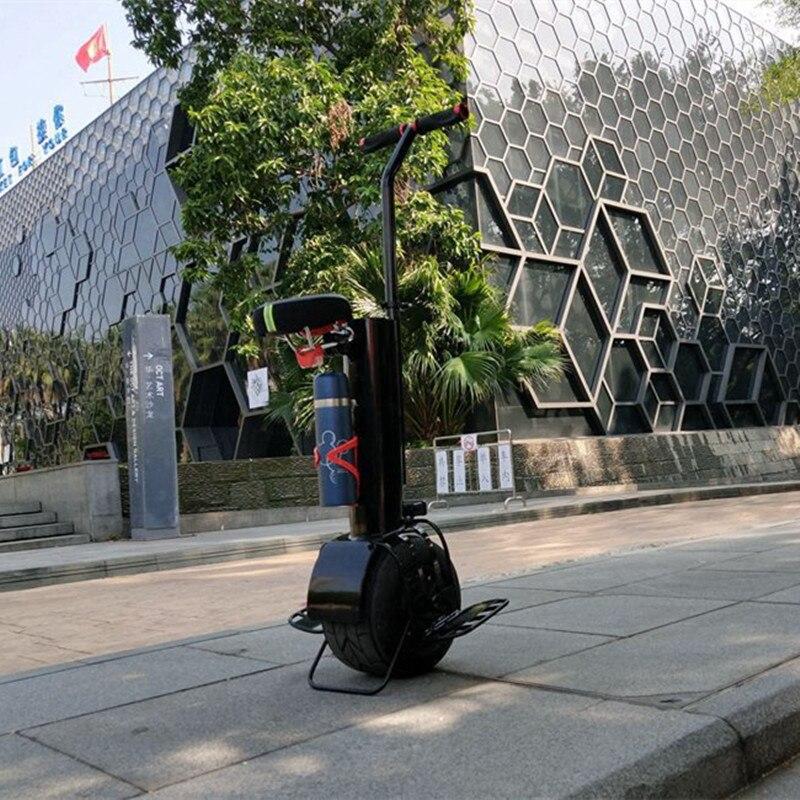 Una rueda auto equilibrio monociclo unicicle scooter con asiento de 10 pulgadas hoverboard - 2