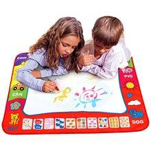 80×60เซนติเมตรทารกเด็กเพิ่มน้ำที่มีปากกาเมจิกD Oodleภาพวาดภาพน้ำวาดเล่นจ้าในวาดของเล่นคณะกรรมการของขวัญคริสมาสต์