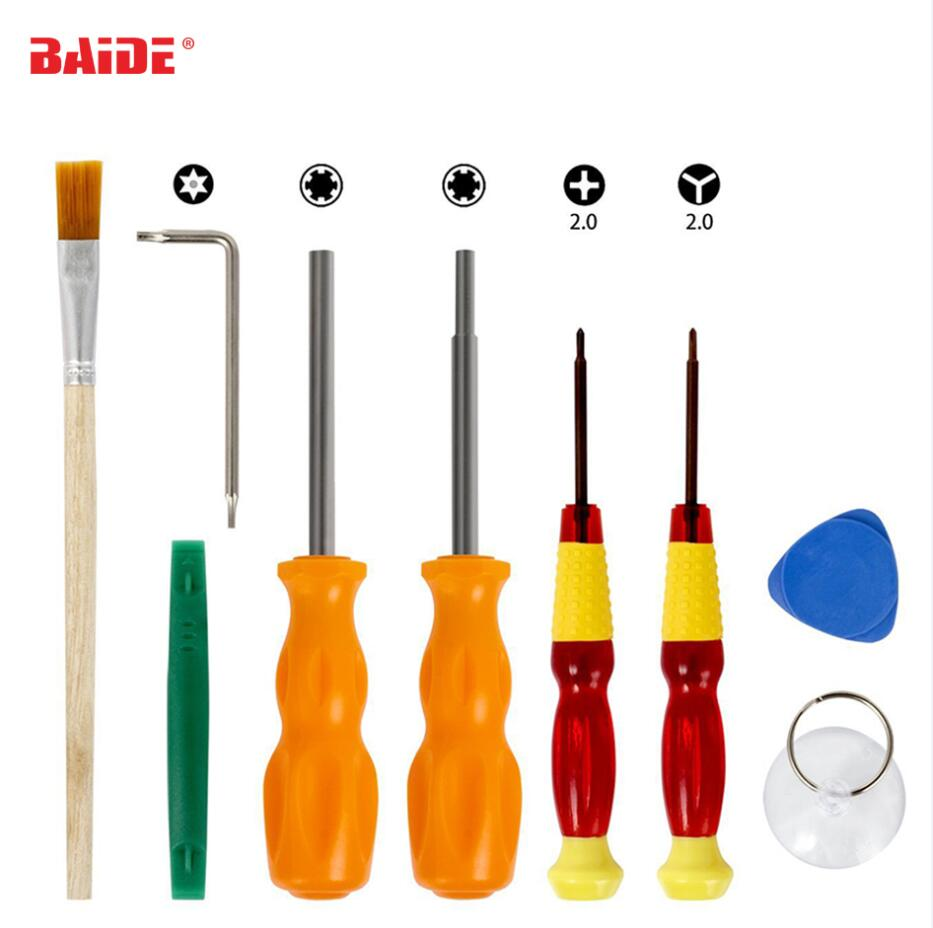 9 in 1 Repair Security Bit Screwdriver Tools Triwing for Nintendo Nintend Switch NES SNES N64 DS Lite GBA Gamecube and Consoles(China)