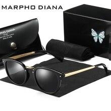 2017 Высокое качество модные Дизайн Женская Cat Eye защиты поляризованные UV400 солнцезащитные очки