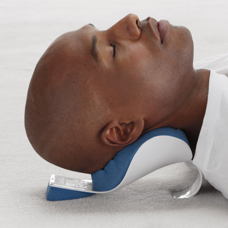 Neck Shoulder Relaxer Pillow Pain Relief Support Shoulder Re