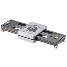 FOTOBETTER LS260 Компактный Двойной макро слайдер рельсы для фотосъемки видео стабилизатор DSLR съемки