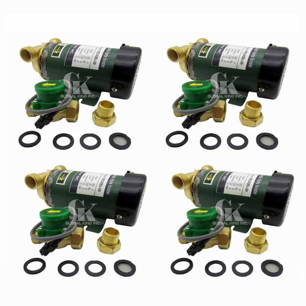 4 pièces * 90 W, 220-240 V Booster pompe automatique chauffe-gaz et pompe de Circulation d'alimentation en eau de maison