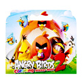 16 Pages Angry Bird Coloring Sticker Book For Children Adult Relieve Stress Kill Time Graffiti Painting Drawing Art Book