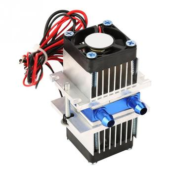 12V DIY Semiconductor Thermoelectric Cooler Cooling Peltier Refrigeration Water Cooling Device Peltier Elemente Module Heatsink sxdool cooling diy new cooling system refrigeration system diy kit set peltier cooler cooling system