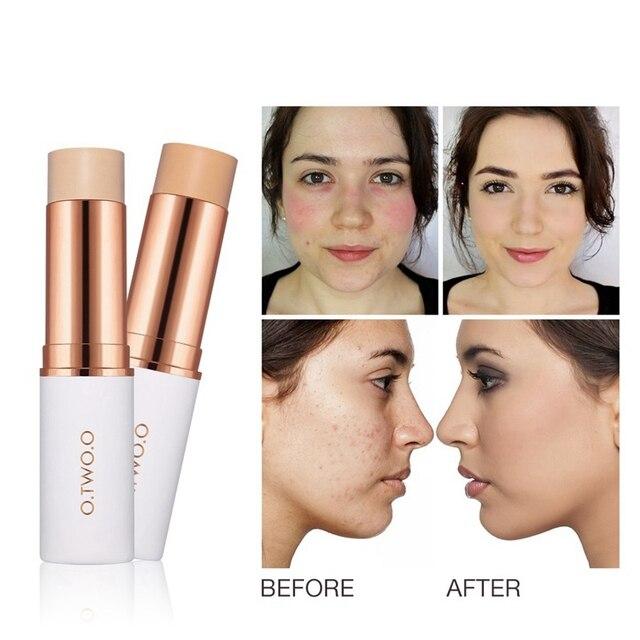 O. Dos. O Corrector facial paleta crema maquillaje Pro Corrector Stick Lápiz Corrector opcional contorno cara maquillaje